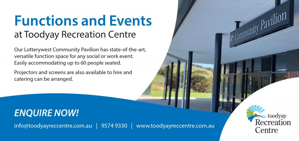 toodyay function rooms