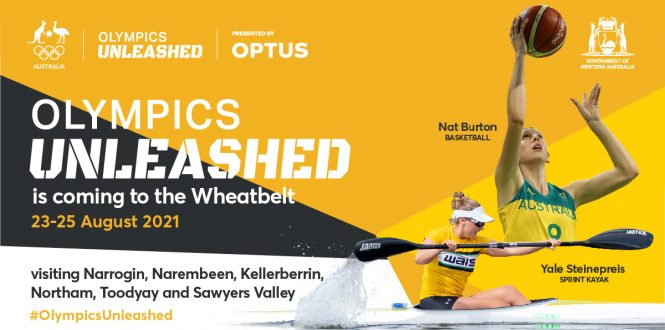 olympics unleashed toodyay rec centre
